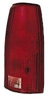 1988 - 2000 GMC Pickup Rear Tail Light Assembly Replacement / Lens / Cover - Right (Passenger)