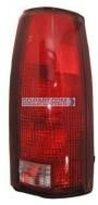 1992-1999 Chevrolet Chevy Suburban Tail Light Rear Brake Lamp (without Connector Plate) - Right (Passenger)