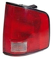 2002 - 2004 Chevrolet (Chevy) S10 Pickup Rear Tail Light Assembly Replacement / Lens / Cover - Left (Driver)