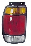 1995-1997 Ford Explorer Tail Light Rear Brake Lamp - Left (Driver)