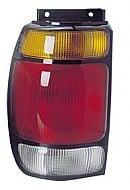 1995-1997 Ford Explorer Tail Light Rear Lamp - Left (Driver)
