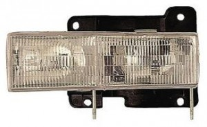1990-2002 Chevrolet (Chevy) C / K Pickup Headlight Assembly - Left (Driver)