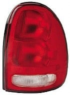 1996 - 2000 Chrysler Town & Country Rear Tail Light Assembly Replacement / Lens / Cover - Right (Passenger)