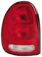 1996 - 2000 Plymouth Voyager Rear Tail Light Assembly Replacement / Lens / Cover - Left (Driver)