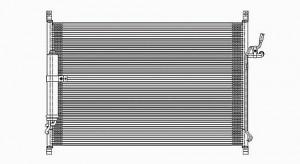 2006-2007 Infiniti M35 A/C (AC) Condenser