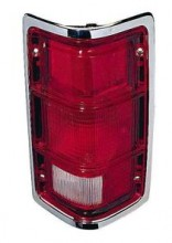 1988 - 1992 Dodge Dakota Rear Tail Light Assembly Replacement / Lens / Cover - Right (Passenger)