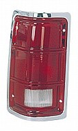 1988 - 1992 Dodge Dakota Rear Tail Light Assembly Replacement / Lens / Cover - Left (Driver)