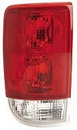 1995 - 2001 GMC Envoy Rear Tail Light Assembly Replacement / Lens / Cover - Left (Driver)
