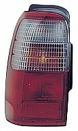 1996 - 1997 Toyota 4Runner Tail Light Rear Lamp - Left (Driver)