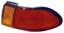 1995 - 1999 Nissan Sentra Rear Tail Light Assembly Replacement / Lens / Cover - Right (Passenger)