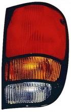 1994-2000 Mazda B2500 Tail Light Rear Lamp - Left (Driver)