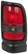 1994 - 2002 Dodge Ram Tail Light Rear Lamp (without Sport Package / Early Design) - Right (Passenger)