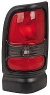 1994-2002 Dodge Ram Tail Light Rear Lamp (without Sport Package / Early Design) - Left (Driver)