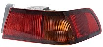 1997 - 1999 Toyota Camry Rear Tail Light Assembly Replacement / Lens / Cover - Right (Passenger)