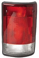 1995 - 2003 Ford Econoline Van Rear Tail Light Assembly Replacement / Lens / Cover - Right (Passenger)