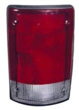 2004 - 2014 Ford Econoline Van Rear Tail Light Assembly Replacement / Lens / Cover - Right (Passenger)