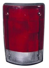 2004 - 2014 Ford Econoline Van Rear Tail Light Assembly Replacement / Lens / Cover - Left (Driver)