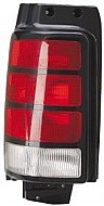 1991 - 1995 Dodge Caravan Rear Tail Light Assembly Replacement / Lens / Cover - Left (Driver)