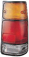 1991 - 1997 Isuzu Rodeo Rear Tail Light Assembly Replacement (with Black Rim) - Right (Passenger)