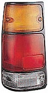 1988 - 1995 Isuzu Pickup Tail Light Rear Lamp (with Black Rim) - Left (Driver)
