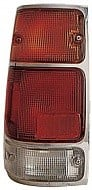 1991 - 1997 Isuzu Rodeo Tail Light Rear Lamp (with Bright Rim) - Left (Driver)