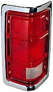 1988-1993 Dodge Ram Tail Light Rear Lamp - Left (Driver)