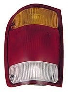 1998 - 1999 Ford Ranger Rear Tail Light Assembly Replacement / Lens / Cover - Left (Driver)