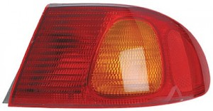 1998-2002 Toyota Corolla Tail Light Rear Lamp (Body Mounted) - Right (Passenger)