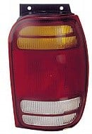 1998 - 2001 Ford Explorer Rear Tail Light Assembly Replacement / Lens / Cover - Right (Passenger)