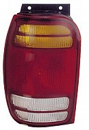1998 - 2001 Ford Explorer Rear Tail Light Assembly Replacement / Lens / Cover - Left (Driver)