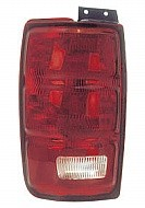 1997-2002 Ford Expedition Tail Light Rear Brake Lamp - Left (Driver)
