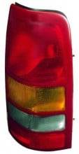 1999 - 2002 GMC Sierra Rear Tail Light Assembly Replacement / Lens / Cover - Right (Passenger)