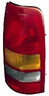 1999-2002 GMC Sierra Tail Light Rear Lamp - Right (Passenger)