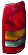 1999 - 2002 GMC Sierra Tail Light Rear Lamp - Left (Driver)