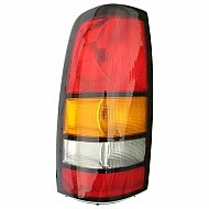 2004 - 2007 GMC Sierra Tail Light Rear Lamp - Left (Driver)