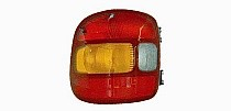1999 - 2003 GMC Sierra Rear Tail Light Assembly Replacement / Lens / Cover - Left (Driver)