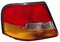 1998-1999 Nissan Altima Tail Light Rear Lamp (without Limited Edition / Amber Lens) - Left (Driver)