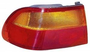 1992-1995 Honda Civic Tail Light Rear Lamp (Coupe/Sedan / Quarter Panel Mounted) - Left (Driver)