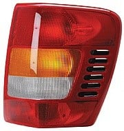 2001 - 2004 Jeep Grand Cherokee Rear Tail Light Assembly Replacement / Lens / Cover - Right (Passenger)