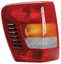 2001-2004 Jeep Grand Cherokee Tail Light Rear Lamp - Left (Driver)