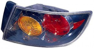 2004-2006 Mazda 3 Mazda3 Tail Light Rear Lamp (Sedan / with Sport Bumper) - Right (Passenger)