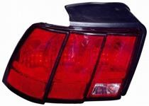 1999 - 2004 Ford Mustang Rear Tail Light Assembly Replacement (Excluding Cobra) - Left (Driver)