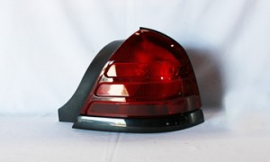 2003-2006 Mercury Grand Marquis Tail Light Rear Brake Lamp - Right (Passenger)
