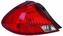 2000 - 2003 Ford Taurus Rear Tail Light Assembly Replacement / Lens / Cover - Left (Driver)
