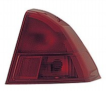 2001 - 2002 Honda Civic Rear Tail Light Assembly Replacement / Lens / Cover - Right (Passenger)