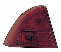 2001 - 2002 Honda Civic Rear Tail Light Assembly Replacement / Lens / Cover - Left (Driver)