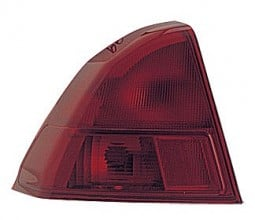 2001-2002 Honda Civic Tail Light Rear Lamp - Left (Driver)