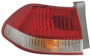 2001-2002 Honda Accord Tail Light Rear Lamp - Left (Driver)