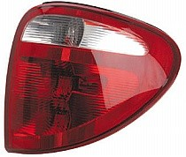 2001 - 2003 Plymouth Voyager Tail Light Rear Lamp (Includes Sockets) - Right (Passenger)