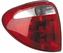 2001 - 2003 Plymouth Voyager Tail Light Rear Lamp (Use Existing Sockets) - Left (Driver)